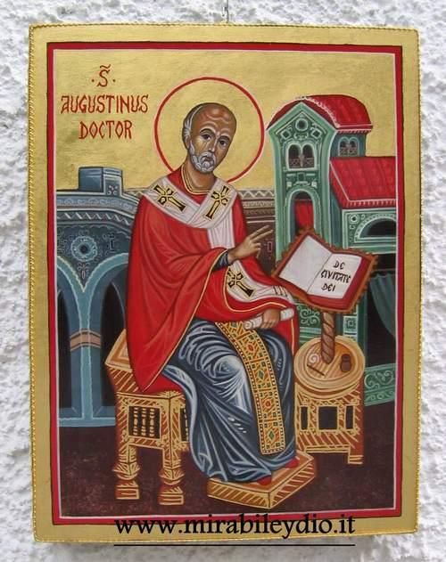 Icona di Sant'Agostino(www.mirabileydio.it)