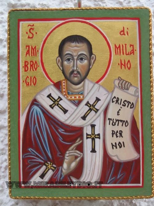Icona S.Ambrogio
