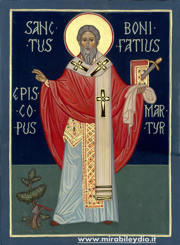 icona San Bonifacio martire